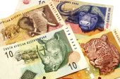 stock photo of zar  - Close up shot of some south african banknotes - JPG