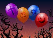 Ballons-religion