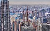 Shanghai mit Höhe