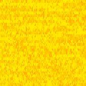 Seamless Yellow Triangle Pattern Background