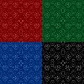 ornament pattern set