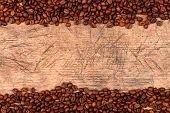 Coffe Beans As Border