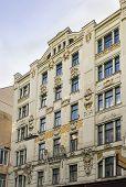 Art Nouveau Building, Vienna