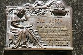 Cemetery in Recoleta, the grave site of Evita Peron