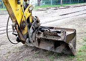 backhoe excavator from