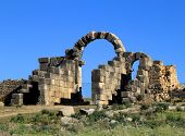 Volubilis - Roman archaeological site.