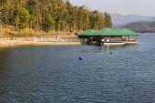 Houseboat In  Mae Ngad Dam, Chiangmai Thailand