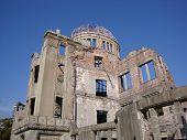 Hiroshima world war ruins