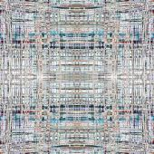 image of supercomputer  - Abstract close up design of a microprocessor in a seamless square tile pattern - JPG