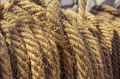 Aged Nautical Ropes
