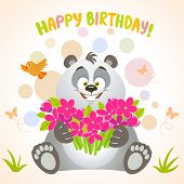 panda happy birthday