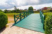 Green Footbridge