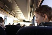 Kid In Bus