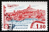 Postage Stamp France 1983 View Of Marseille