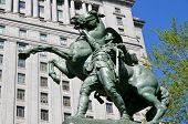 Equestrian statue