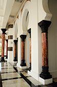 Column of Ubudiah Mosque at Kuala Kangsar, Perak
