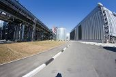 fuel storage of thermal power plant