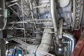 electric power station or industrial plant equipment