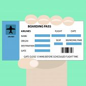 Boarding Pass In Hand