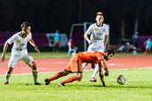 Sisaket Thailand-october 29: Victor Amaro Of Sisaket Fc. In Action During Thai Premier League Betwee