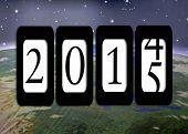 New Year 2015 Odometer