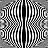 Постер, плакат: Design Monochrome Movement Illusion Background