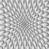 Design Convex Metallic Geometric Pattern