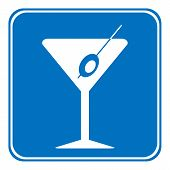 Martini Sign Is Allowed To Drink