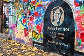 Prague Lennon Wall, Czech Republic, Europe