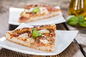 Ham And Pineapple Pizza Slices