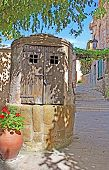 Closed Old Well In Old Town Of Tossa De Mar Village, Costa Brava, Spain