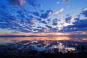 Sunset Lake Storsjön