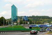 Vilnius City Center Shot From Zverynas District