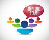 Join Our Team Illustration Design