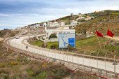 Road Tanger-med 2 New Port Terminals Under Construction
