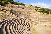 The Ancient Ruins Of Assos.