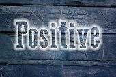 Positive Thinking Concept