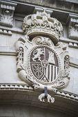 stone shield, Spanish city of Valencia, Mediterranean architecture
