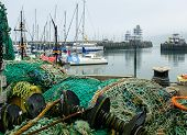 Scarborough fishing nets