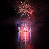 Fireworks - Ignis Brunensis in Czech republic in Brno