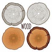 Vector tree rings