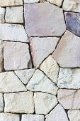 Multi-colored And Multi-sized, Pale Rocks Wall Grunge Texture Background