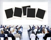 foto of polaroid  - Polaroid Paper Instant Camera Photography Media Concept - JPG