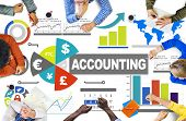 stock photo of accounting  - Accounting Analysis Banking Business Economy Financial Investment Concept - JPG