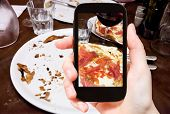 foto of take out pizza  - photographing food concept  - JPG