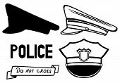 picture of police  - Police cap - JPG