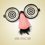 image of fool  - fake eyeglasses - JPG