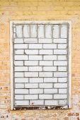 image of brick block  - Real brick wall - JPG