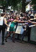 Leona Lewis en sal estreno en Londres, 16 de agosto de 2010