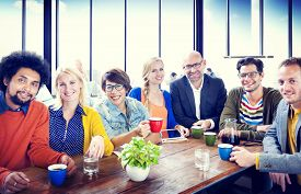 pic of diversity  - Group of People Cheerful Team Study Group Diversity Concept - JPG